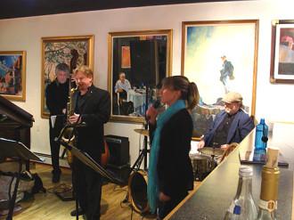 Ellis Quartet with April