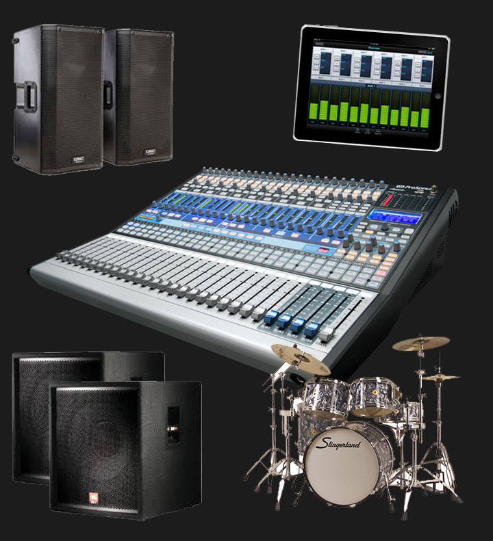 Ellis Bands Pro Audio and Equipment Rental